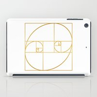 Golden Oval iPad Case