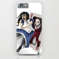 iPhone & iPod Case featuring Queen of Hearts by Adam Dunt