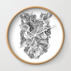 The Six Swans Wall Clock