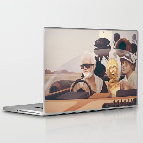 Fear and Loathing on Tatooine Laptop & iPad Skin