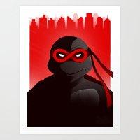 Raphael Forever Art Print