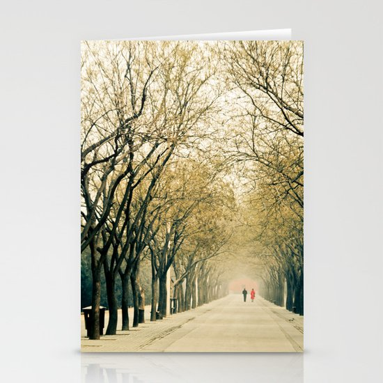 Walk in the park Stationery Card