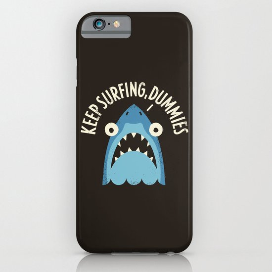 Great White Snark iPhone & iPod Case
