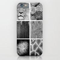 Black & White iPhone 6 Slim Case