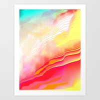 Pool Hallucination Art Print
