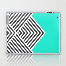 Minty Fresh Chevron Laptop & iPad Skin