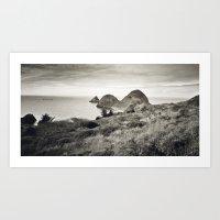 ... L'île Du Bout Du Mo… Art Print