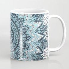 BOHOCHIC MANDALA IN BLUE Mug