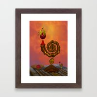 The Wizard's Table Framed Art Print
