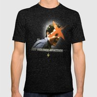 Black Mirror | Dale Coop… Mens Fitted Tee Tri-Black SMALL