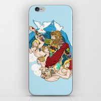 Jesus Piece iPhone & iPod Skin