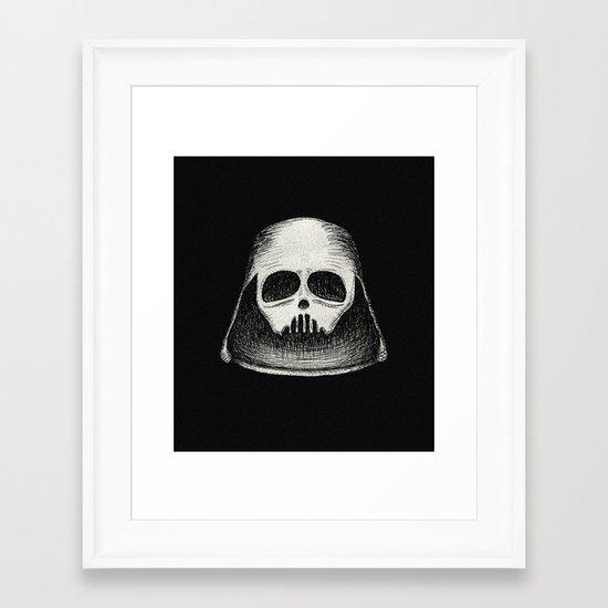 Death Vader Framed Art Print