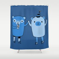 Pawty Time Shower Curtain