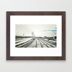 Los Angeles River Framed Art Print
