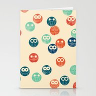 Owl Spots Stationery Cards