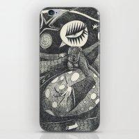 Night Secrets iPhone & iPod Skin