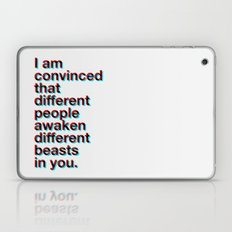 I Am Convinced  Laptop & iPad Skin