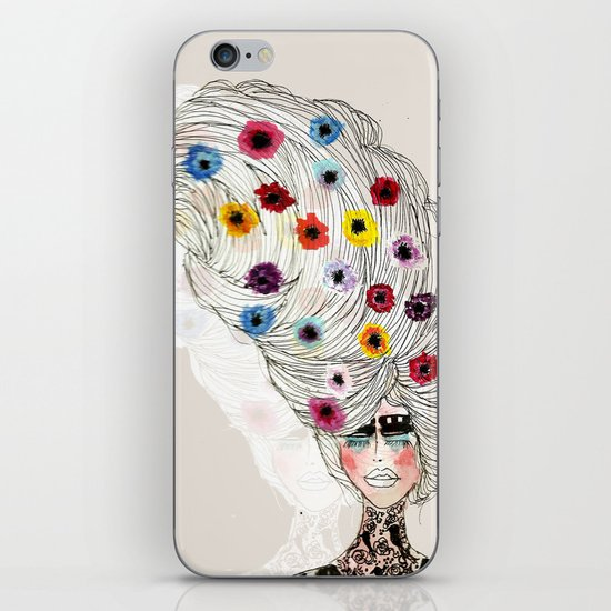 Flower Child iPhone & iPod Skin