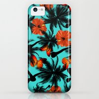 iPhone 5c Cases featuring pattern by mark ashkenazi