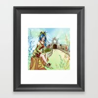 Reine Elf Framed Art Print