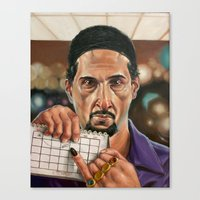 Jesus Quintana. Canvas Print