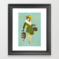 Dinner Guest 1957 Framed Art Print