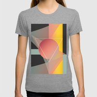 Objectum Womens Fitted Tee Tri-Grey SMALL
