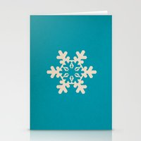 Snowflake, Winter, Chris… Stationery Cards