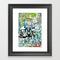 Visuals of Inexplicable Maybe, Act 2 Framed Art Print