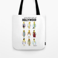 Golden Age Of Hollywood Tote Bag