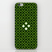 Card Suits iPhone & iPod Skin
