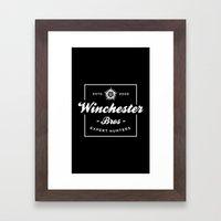 Winchester Bros - Expert… Framed Art Print