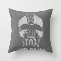 No Pain, No Bane Throw Pillow