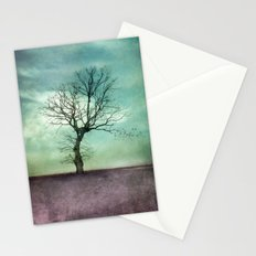 ATMOSPHERIC TREE I Stationery Cards