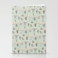 Children Playing-on Mint Stationery Cards