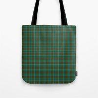 Canadian Fancy Tartan Tote Bag