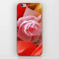 Paper handmade flowers iPhone & iPod Skin