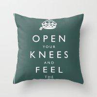 Department Of fair trade Throw Pillow