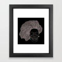 She is CHANEL Framed Art Print