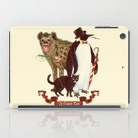 At The Arkham Zoo iPad Case