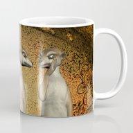 Funny Meerkats  Mug