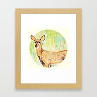 As A Deer Framed Art Print