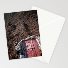 Knock on Rock (perspective switch) Stationery Cards