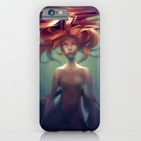 mermaid iPhone & iPod Cases featuring Mermaid by loish