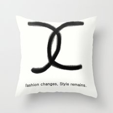 Fashion and Style Throw Pillow