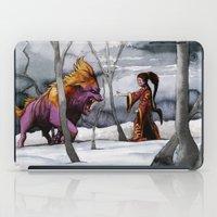 BEAST AND BEAUTIFUL iPad Case
