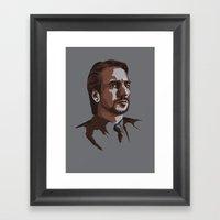 Villains: Hans Gruber Framed Art Print
