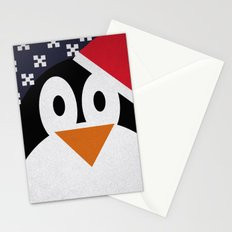 christmas pinguin Stationery Cards