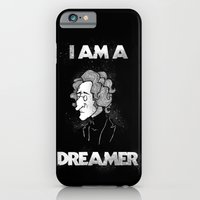 iPhone & iPod Case featuring I am a Dreamer - Lennon Illustration by SketchbookJack