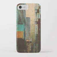 retro iPhone & iPod Cases featuring ESCAPE ROUTE by Liz Brizzi